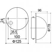 den trang tri led panasonic HH-LW6010219